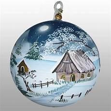 beleuchtete weihnachtskugeln glaskugel winterzeit romantische weihnachtszeit