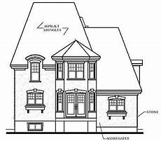 mansard roof house plans roomy hous plan with mansard roof 21456dr