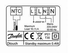 devi underfloor heating wiring diagram devireg touch white
