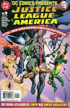 dc presents justice league of america vol 2 1 dc