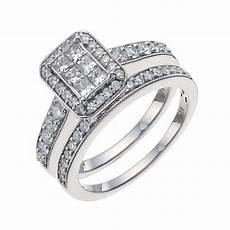 wedding engagement sterling silver cubic zirconia bridal rings uk seller c s