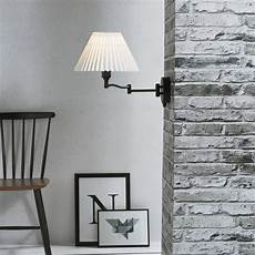 break traditional wall light with pleated shade 19861003 black from 163 34 40