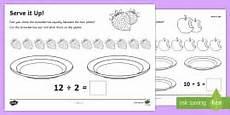 division worksheets ks1 6236 maths ks1 introducing division activity powerpoint