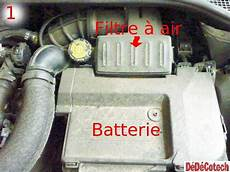 filtre a air clio 3 changer le filtre 224 air sur renault clio iii 1 5 dci tuto
