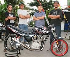 Modifikasi Megapro Herex by Honda Mega Pro Sidoarjo Ini Lho Oprekan Spesial Herex