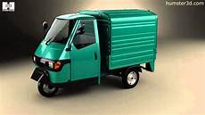 Piaggio Ape 50 1996 By 3d Model Store Humster3d