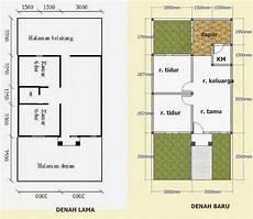 Contoh Denah Rumah Tipe 36 Sederhana Terbaru Desain
