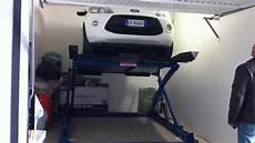 sollevatore auto box sollevatore auto ragno sollevamento a forbice con piano