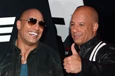 Dwayne Johnson And Vin Diesel End Feud