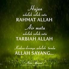 Kata Kata Mutiara Tentang Hujan Islami