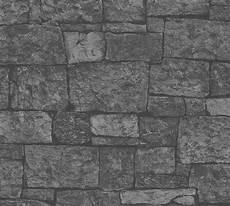 vliestapete stein vliestapete stein optik steinwand anthrazit 31994 2