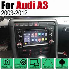 2 din car multimedia player android radio for audi a3 8p