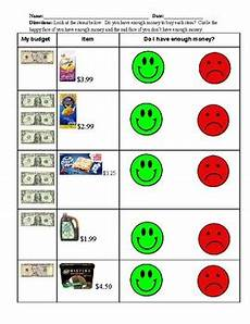 money worksheets do i enough 2107 do i enough money to make a purchase by romito tpt