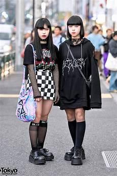 monochrome harajuku street styles w bercerk faith tokyo never mind the xu demonia