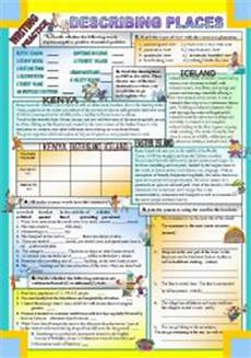 describing places worksheets printables 15977 teaching worksheets describing places