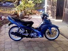 Warna Motor Jupiter Z by Jupiter Mx Modifikasi Warna Biru Putih Thecitycyclist