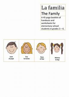 worksheets la familia 18350 la familia elementary school the family