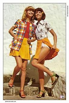 Mini Jupe 1973 Vintage Dress 70 S En 2018