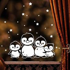 fensterbild pinguine wall decal