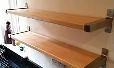 Ikea Ekby Shelves Using Reclaimed Solid Birch Gosforth
