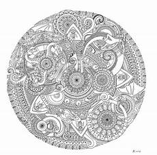 mandala by bgerr on deviantart