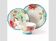 Pioneer Woman Dinnerware Vintage Bloom 12 Pc Set Floral