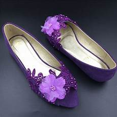 Purple Peep Toe Heels For Wedding