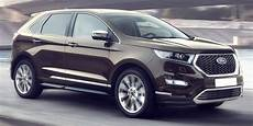 ford vignale edge ford edge vignale review carwow