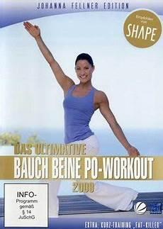 das ultimative bauch beine po workout 2009 dvd oder