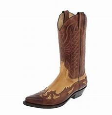 Bottes Mexicaines Magasin Western Santiag Homme Cuir