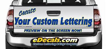 Create Custom Truck Boat Bike & Racing Decal Kits