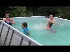 installation et montage piscine hors sol tubulaire jilong