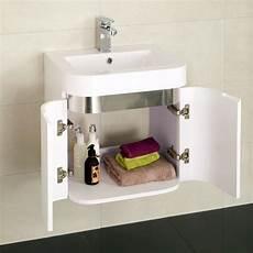 Small Bathroom Wall Storage Unit by Murcia 50 Wall Mounted 2 Door Vanity Unit Small Bathroom