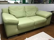 divani letto offerta divano in offerta 2 posti moderno in vera pelle verde