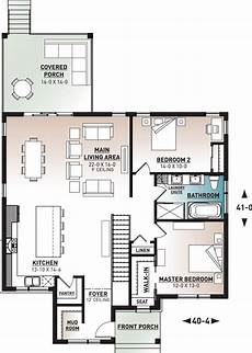 single story modern house plans modern one story house plan with laundry chute to basement