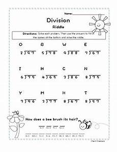 division worksheets by 2 6111 2 digit by 1 digit division with remainders riddle worksheet