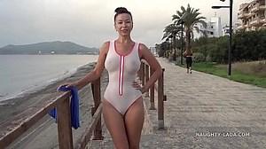 Transparent Swimsuit Porn