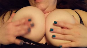 Playing With Wifes Tits