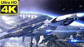 Epic Space Battle: [4K] Dreadnought Awesome Space Fight Cinematic Scenes