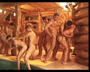 Gay Sauna Porn