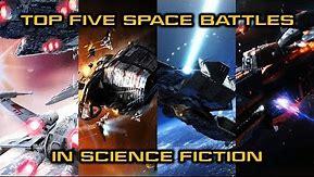 Top Five Sci-Fi Space Battles