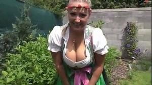 Big Tits Dirndl