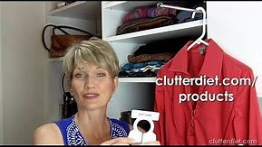 What Are The Best Hangers For Your Closet?   Clutter Video Tip