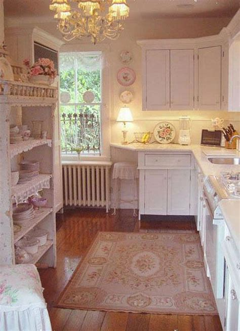 shabby chic pink and blue kitchen awesome shabby chic kitchen designs