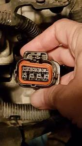 Broken The Tab Off The Transmission Harness Connector
