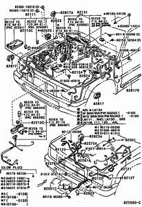 Wiring  U0026 Clamp For 1988  4runner Truck