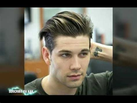model rambut pria  youtube
