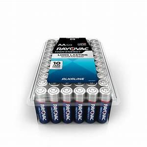 Batterie 1 5 Volt : rayovac high energy alkaline aa 1 5 volt battery 60 pack ~ Jslefanu.com Haus und Dekorationen