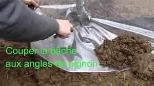 Bache De Serre Avec Ourlet : montage b che serre tunnel izella 4m x6m par serre crysland youtube ~ Voncanada.com Idées de Décoration