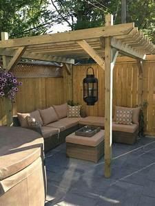 Backyard, Landscape, 16, Amazing, Diy, Patio, Decoration, Ideas